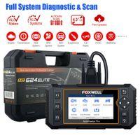 programmierer key auto vag großhandel-OBD2 Diagnosewerkzeug Scanner Vollsystem Auto ABS SRS SAS CVT ESP Öl EPB Check