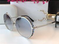 16bb7b175c1 Wholesale framing large mirror online - Fashion Brand Designer Women  Sunglasses Retro Round Frame Glasses Large
