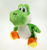 Wholesale toys children mario bros for sale - Super Mario Bros Yoshi Plush Toy Green Game Stuffed Model Cartoon Character Gift Children New Arrival km D1