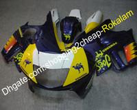 parte de la motocicleta del cuerpo al por mayor-Hermosa cubierta para partes del cuerpo Honda CBR600 F3 1997 1998 CBR 600 CBR600F 3 Customized Motorcycle Fairing Kit (moldeo por inyección)