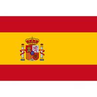 Spain Banner 3ft x 5ft Hanging Flag Polyester Spain National Flag Banner Outdoor Indoor 150x90cm for Celebration