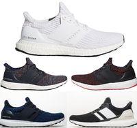 separation shoes b2277 04f01 Ultra Boost 4.0 Koşu Ayakkabı Çizgilerinizi Göstermek Meme Kanseri  Bilinçlendirme CNY Siyah Çok Renkli Erkekler Womens Gerçek Boost Sneakers  Boyutu 36-48
