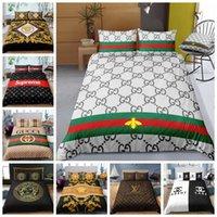 modern moda kraliçe yataklar toptan satış-Moda Lüks Yatak Seti Kral İkiz Tam Kraliçe Tek Çift Nevresim Seti yastık kılıfı ile rahat dokunmak Yorgan Kapak