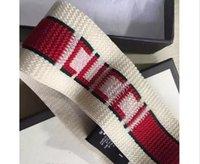 ingrosso bande di capelli di marca-Designer fascia elastica per donne e uomini miglior marchio di qualità avidità e strisce di capelli a strisce rosse testa sciarpa per le donne ragazza Headwraps xx