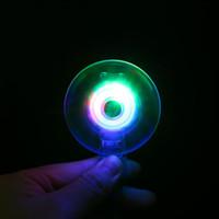 pulseiras de festa plástica luz venda por atacado-Brinquedos led 12 pc / 1 pacote de luz até pulseira brinquedos de plástico de criança mini festa de aniversário iluminado giroscópio de giro para crianças