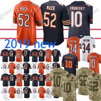 52 Khalil Mack Jerseys 10 Mitchell Trubisky Chicago 34 Walter Payton bears  58 Roquan Smith 24 Howard Jersey 100% Stitched High-quality f7da1454c