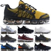 siyah antrenör ayakkabıları toptan satış-2019 mens Yeni Run Utility Siyah Antrasit koşu ayakkabıları üçlü Bordo Crush tasarımcı Yastık eğitmenler spor sneakers Orta Zeytin 40-45