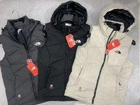casaco de moda colete venda por atacado-NOVO O baixo do colete colete e tampa removível homens e mulheres norte-FACE Outdoor Coats clássico sem mangas moda jaqueta Vest