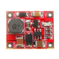 5v step up module venda por atacado-3V3.7V Para 5V 1A bateria de lítio Step Up Module Board Mini Mobile Power impulsionar Módulo carregador com subtensão Indicação