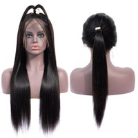 Wholesale cute human hair for sale - Group buy Human Hair Wigs Brazilian Human Hair Meach Made Remy Wigs Per Plucked Long Cute Students Human Hair Wig