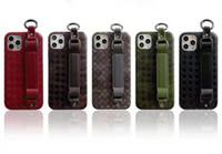 caso para iphone5 novo venda por atacado-Luxo Moda Paris Mostrar telefone para o iPhone 11 Pro Max X XS Max XR Cartão 8 Plus Capa de Couro Phone Holder para o iPhone 7plus Tampa