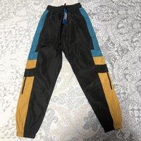 брюки черные мужские оптовых-Мужчины Брюки Черный Белый Сплошные цвета брюки для мужчин Азиатский Плюс Размер M-4XL Мужские Lont Брюки ZMY7031