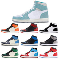 Wholesale basketball games for sale - Group buy New Arrival Air Retro jordan Men Basketball Shoes Stain Bred Toe Chicago Banned Game Royal Backboard Shadow Trainer sneaker