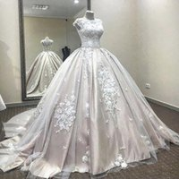 Wholesale pregnant brides wedding dresses resale online - Said Mhamad Ball Gown Wedding Dresses Arabic Dubai Bride Dresses Maternity Pregnant Bridal Gowns Custom Made