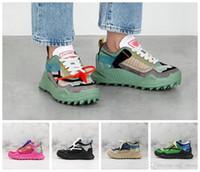 pembe siyah spor sütyen toptan satış-2020 Yeni Erkek 19FW ODSY-1000 Ok Sneakers Moda Platformu Beyaz Siyah Yeşil Pembe Tasarımcı Eğitmenler Ayakkabı Bayan Spor CHAUSSURES Koşu