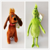 New Toy How the Grinch Stole Christmas Soft Doll Plush Mew Toy For Kids Christmas Halloween Best Gifts 18-30cm