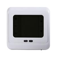 ingrosso riscaldamento a schermo lcd-Touch screen del regolatore di temperatura LCD del sistema di riscaldamento a pavimento della stanza del termostato programmabile di Freeshipping con la retroilluminazione verde blu bianca