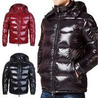 parkas d'hiver pour femmes achat en gros de-Luxe Hommes Femmes Veste Casual Down Coats Mens Outdoor chaud plume homme manteau d'hiver Outwear Vestes Parkas