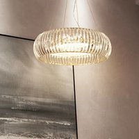 Wholesale led bulb mount resale online - New arrival American K9 crystal chandelier lighting luxury pendant lamps round chandeliers lights with led bulb for bedroom dinning room