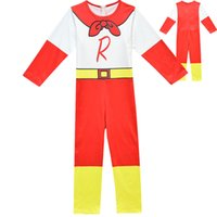 Wholesale double butterfly toy for sale - Group buy Boys Girls Jumpsuit Bodysuits Ryan Toys Review Cosplay Clothes Halloween Costume Cute Party Funny Kids Children Clothing Cosplay