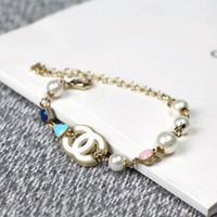 cadeaux européens achat en gros de-Nouveau bracelet dame en perles avec des éléments de bonbons à la mode européenne et américaine, le meilleur choix pour un cadeau.