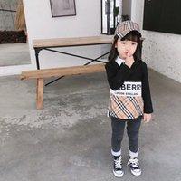 neue kindersportkleidung großhandel-2019 neue frühling herbst baby jungen mädchen kleidung baumwolle sweatshirt kinder kinder casual sportbekleidung säuglingsbekleidung