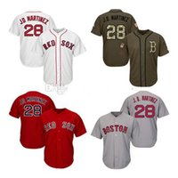 Wholesale baseball jerseys stars resale online - Men Womens Youth Red Sox Jerseys Martinez Baseball Jerseys White Gray Grey Navy Blue Red Green Salute to Service Players Weekend All Star