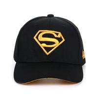Wholesale superman sun cap for sale - Group buy Superman Printing Casual Outdoor Baseball Caps for Men Women Snapback Caps for Adult Sun Hat Gorras Para Hombre Baseball Cap