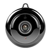 gece görüş sesli mini kamera toptan satış-V380 Mini Wifi 960P HD IP Kamera Kablosuz CCTV Kızılötesi Gece Görüş Hareket Algılama 2 Yönlü Ses Hareket Tracker Ev Güvenlik 10pcs / lot