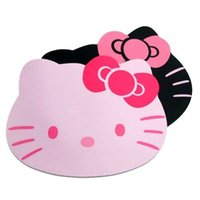 Wholesale priced laptops for sale - Group buy Drop Shipping Hello Kitty Cute Laptop Computer Mouse Pad Mat Pink Black Color Price