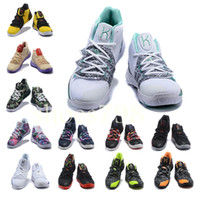 356234fbcf1e With box high quality designer fashion shoes Kyrie 5 Irving Neon Blends  chaussures men 5s Wolf Grey Team Red sports basketball shoes
