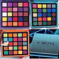 marca de maquillaje pro al por mayor-Estrenar Norvina Pro Pigmento paleta Vol.1 / 2/3 paletas de sombras de ojos de 25 color mate de la Navidad Presionado maquillaje sombra de ojos pigmentado de Shiping