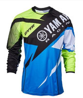 Wholesale yamaha flame resale online - 2019 New Moto for YAMAHA Motocross Jersey Mountain Honda Motocross Jersey BMX DH MTB perspiration for YAMAHA T Shirt K1g