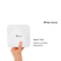 Wholesale mini pc 16gb ram for sale - Group buy Amlogic S905W Android TV Box TX95 Quad Core GB RAM GB ROM Streaming Smart Media Player G Wifi Bluetooth Mini PC