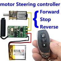 transmisor de 9v receptor al por mayor-interruptor de control remoto inalámbrico 433 mhz rf transmisor receptor 3.7v 4.5v 9v 12v motor Adelante Dirección inversa Módulo controlador