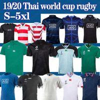 irlanda xl camisa de rugby venda por atacado-jérseis NRL Irlanda Fiji Japão Copa do Mundo de rugby NRL jerseys liga Homens 2019 Thai qualidade superior s-5XL
