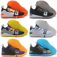 sıcak erkekler için rahat ayakkabılar toptan satış-2019 Sıcak Satış Kobe AD EP Exodus React Oreo Pembe Rahat Ayakkabılar En kaliteli KB Erkek Rahat Ayakkabılar Boyutu 7-12