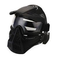 lente de ossos venda por atacado-Máscara Lente Ao Ar Livre tático Rosto Cheio Respirável Cs Máscaras de Proteção Do Exército de Caça Acessórios