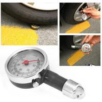 Wholesale tool monitoring resale online - Black High Precision Car Motor Bike Dial Tire Mini Tire Pressure Gauge Meter Measurement Fetal Pressure Monitor Tools