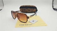 mejores gafas de sol para mujer al por mayor-Las gafas de sol sin montura más vendidas para mujer Madera y naturaleza Cuerno de búfalo Sunglasse Hombres que conducen Sombra Gafas de diseño Gafas de sol Gafas de sol
