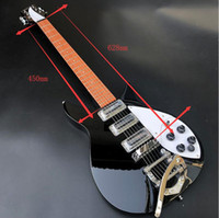 Wholesale clear electric guitar for sale - Group buy 2019 high quality Ricken325 electric guitar mahogany fingerboard clear paint real photos