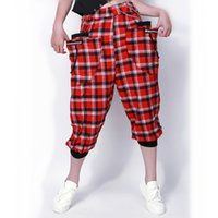Wholesale women wearing tight clothes pants resale online - 17 new sport wear Harlan Hip Hop Dance tights pants spring and summer sports pants trousers clothing jogging clothing