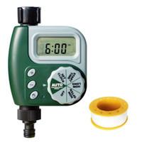 садовый оросительный сад оптовых-Garden Yard Automatic Irrigation Controller Digital Watering Timer Irrigation Water Timer - Single Outlet Faucet Hose Bib