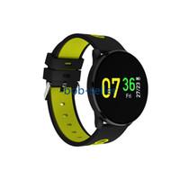 fitness uhrenarmband großhandel-CF007 Smart Watch Sport Armband Fitness Tracker Pulsmesser Smartwatch Fashion Steel Strap Armbanduhr
