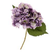 ingrosso giardinaggio peonies-Artificiale Ortensia Rosa Seta Peonia Flower Room Garden Office Decor Viola