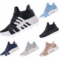 ayakkabı yap toptan satış-2019 EQT Bask Primeknit Basketbol Boots Orijinalleri EQT Bask Mix Kauçuk Tampon Köpük Dahili Orta Üst Spor Ayakkabı