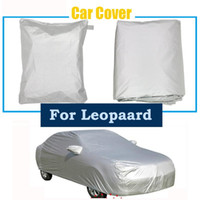 Wholesale car sun shade foldable resale online - Car Cover Sun Shade Dustproof Full Car Covers Snow Ice Dust Wind Sunshade Cover Foldable For Leopaard Q6 H2s Cs10 Heijingang Cs6