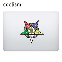 Wholesale order laptops resale online - Order of the Eastern Star Colorful Sticker Laptop Decal for Pro Air Retina inch Mac Book Notebook Skin