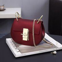 Wholesale colored crosses for sale - Group buy 2019 Womens Bags Luxury Designer Bag Fashion Piggy Pack Classic Colored Lady Pack Lock and Buckle Lady Single Shoulder Slant Bag New Arrival