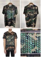 мужская футболка купить оптовых-Оптовые -2019 новые европейские и американские мужские футболки с принтом из хлопка - размер m-3xl- бесплатная доставка - добро пожаловать на покупку